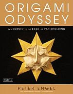 Photo: Origami Odyssey: A Journey to the Edge of Paperfolding Peter Engel Tuttle 2011 hardback 144 pp ISBN 0804841195