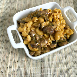 Vegan and Gluten-Free Butternut Mushroom Mac and Cheese