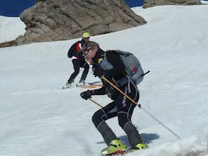 Photo: Momento del descenso