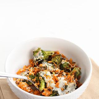 Pesto Broccoli Sweet Potato Rice Casserole – Two Ways!