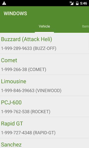Cheats for GTA V 6 screenshots 2