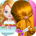 School kids Hair styles-Makeup Artist Girls Salon icon