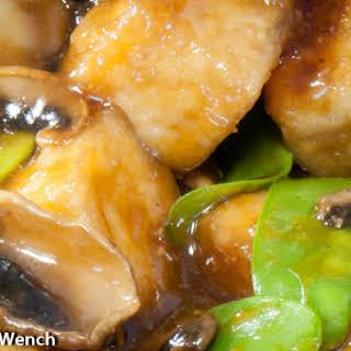Tofu Stir Fry With Mushrooms.