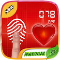 Fingerprint Heartbeat Prank icon