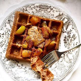 Paleo Apple Cinnamon Waffles (GF).
