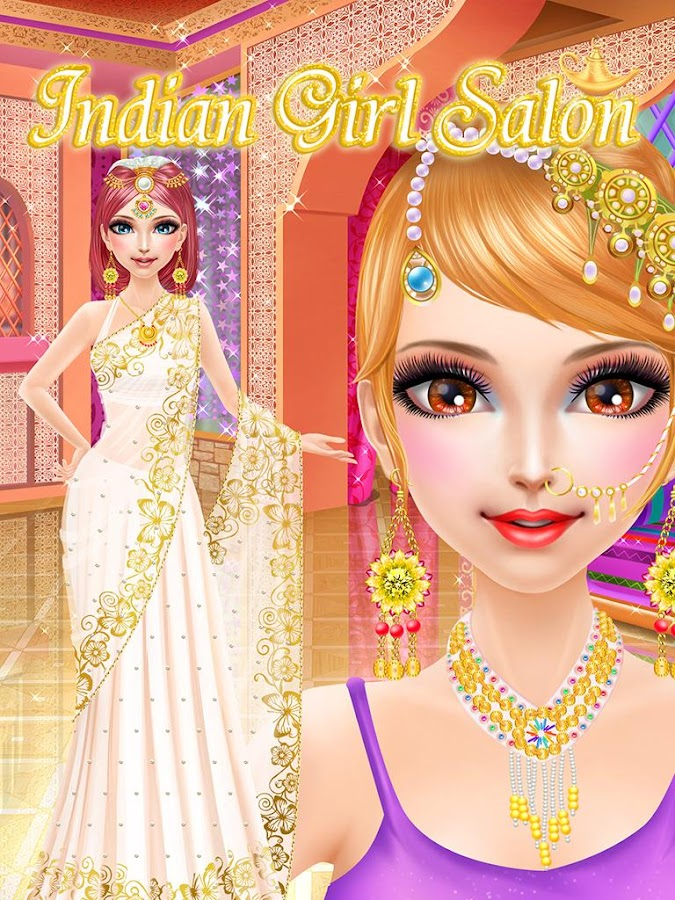 Marvelous Indian Girl Salon Girls Games Android Apps On Google Play Hairstyle Inspiration Daily Dogsangcom