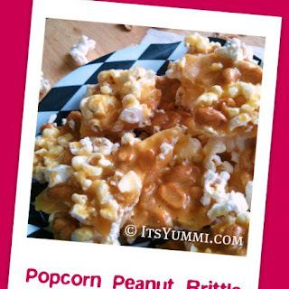 Popcorn Peanut Brittle