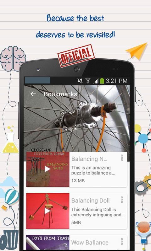 Do It Yourself Toys from Trash by Arvind Gupta- screenshot