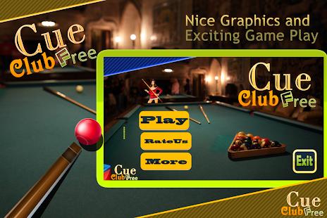 Cue Club Free screenshot