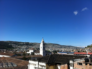 Photo: View from the rooftop, Hotel San Francisco, Quito
