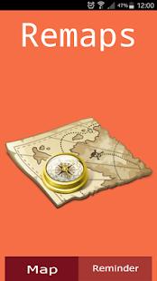Remind Maps - náhled