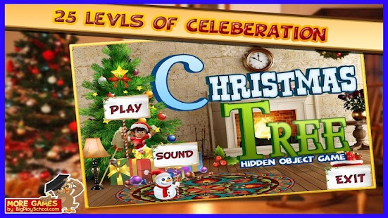 15 Free Hidden Object Game Free New Christmas Tree - náhled