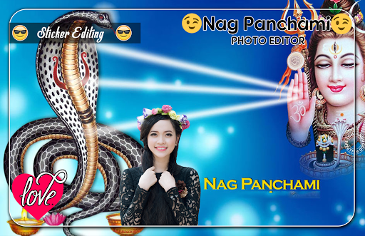 Nag Panchami Photo Editor screenshot 4