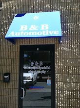 Photo: B & B Automotive Specialist in Pembroke, MA proudly displaying their BBB Accreditation