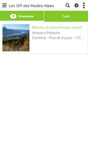 Download Les GR des Hautes-Alpes For PC Windows and Mac apk screenshot 1
