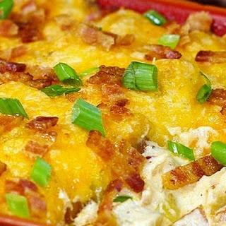 Fully Loaded Extreme Cheesy Potato Casserole Recipe