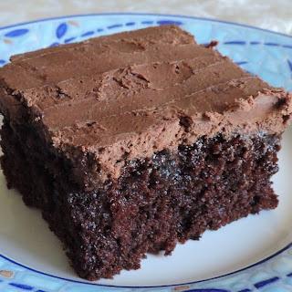 Rich Mocha Poke Cake
