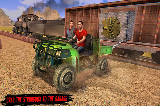 Train Gold Robbery 2019 – New Train shooting games screenshot 7