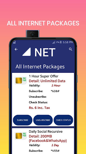 Warid Packages 2020 Updated Jazz Packages 2020 Download Apk Free For Android Apktume Com