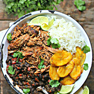Cuban Pork & Black Bean Rice Bowls