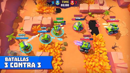 Tanks a lot! - online battlegrounds brawls (Unreleased) Mod