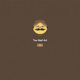 Toe Nail Art - náhled
