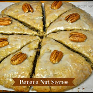 Banana Nut Scones.