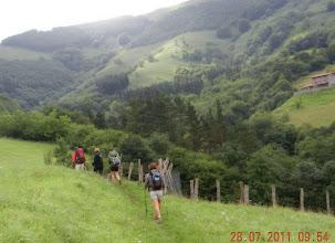 Photo: C'est parti au dessus d'Arantza