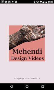 Mehendi Design Videos screenshot 0