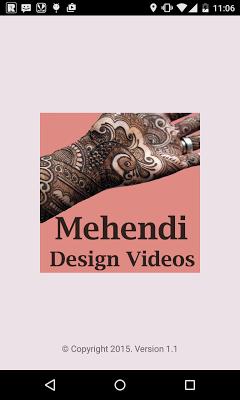 Mehendi Design Videos - screenshot