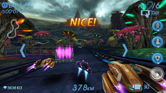 Space Racing 3D - Star Race Screenshot