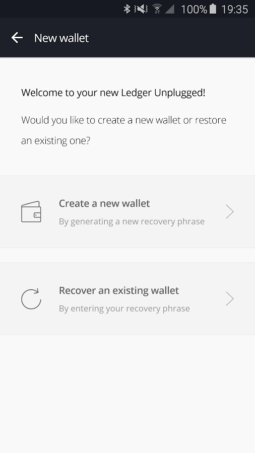 Ledger Authenticator- screenshot