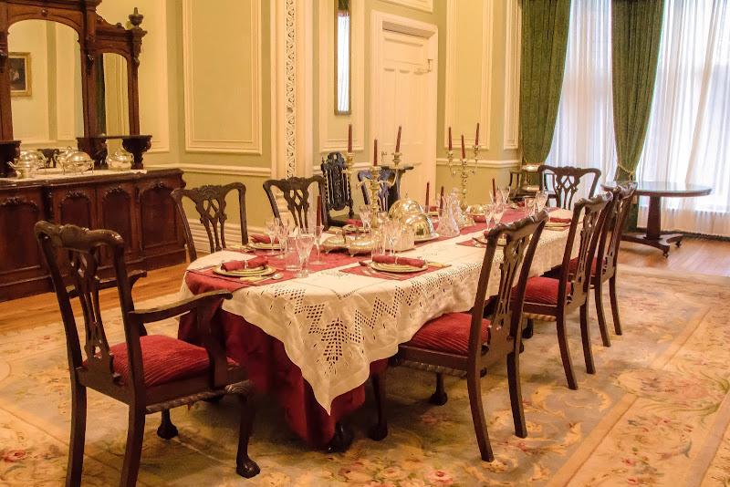 la tavola della festa di Erre-Gi