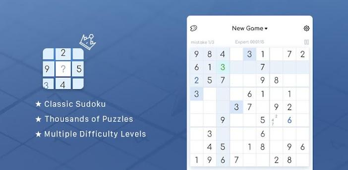 Sudoku - Kostenlose klassische Sudoku Puzzles