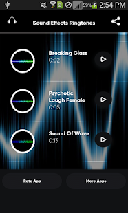 Sound Effects Ringtones - náhled