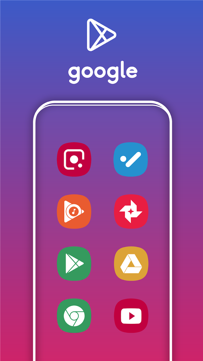 One UI Pie - Icon Pack Screenshot 1