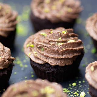 Vegan Gluten-free Chocolate Cupcakes.