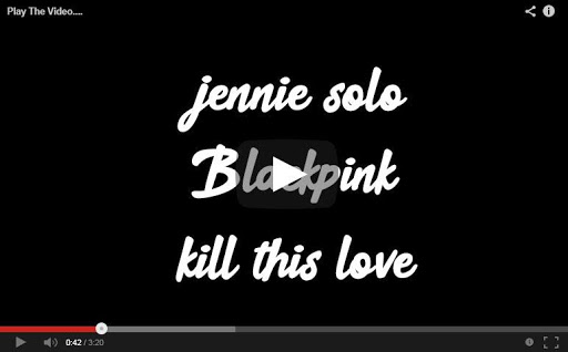 JENNIE - 'SOLO' M/V (BLACKPINK) Lyrics 1.0.0.8 screenshots 2