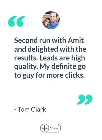 Tom Clark Testimonial Cover