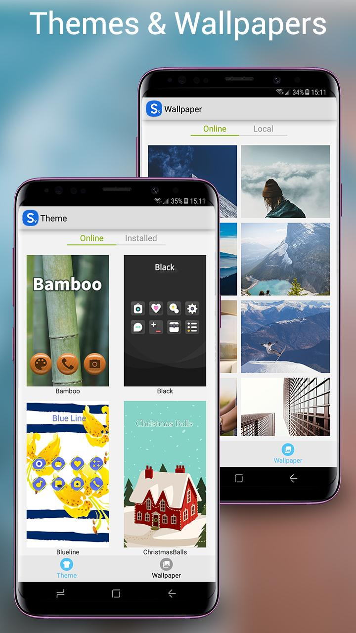 S Launcher - Galaxy S9 Launcher, S9/S8 theme, cool Screenshot 2
