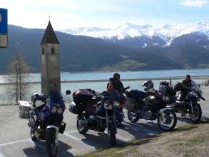 Photo: Auf dem Weg nach Genua, Reschenpass (Urheberrecht R. Mayer)