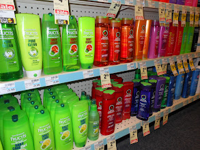 Photo: Amanda did remind me that she needed shampoo and conditioner, so we stocked up.