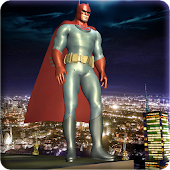 Bat Hero: Super Legend Battle - Flying Superhero