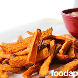 Sweet Potato Fries (or Wedges) with Smoky Chipotle Dip