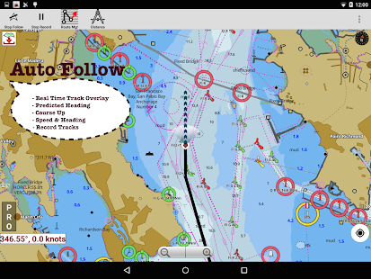 Canada:Marine Navigation Charts &Lake Fishing Maps- screenshot thumbnail