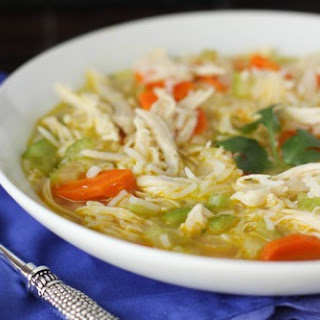 Homemade Chicken, Ranch and Rice Soup Recipe