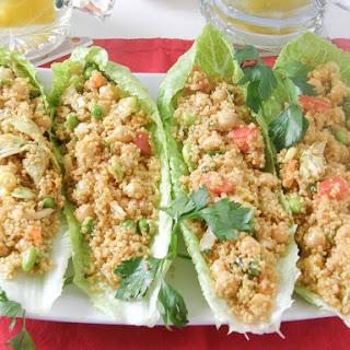 Quinoa Salad Boats.