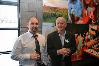 Photo: Marc Parent, Rod Potter (ASHRAE Ottawa President)