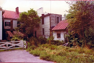 Photo: Back of the Simon Lauck House, 1974