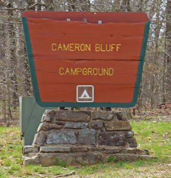 Mount Magazine Cameron Bluff Campground